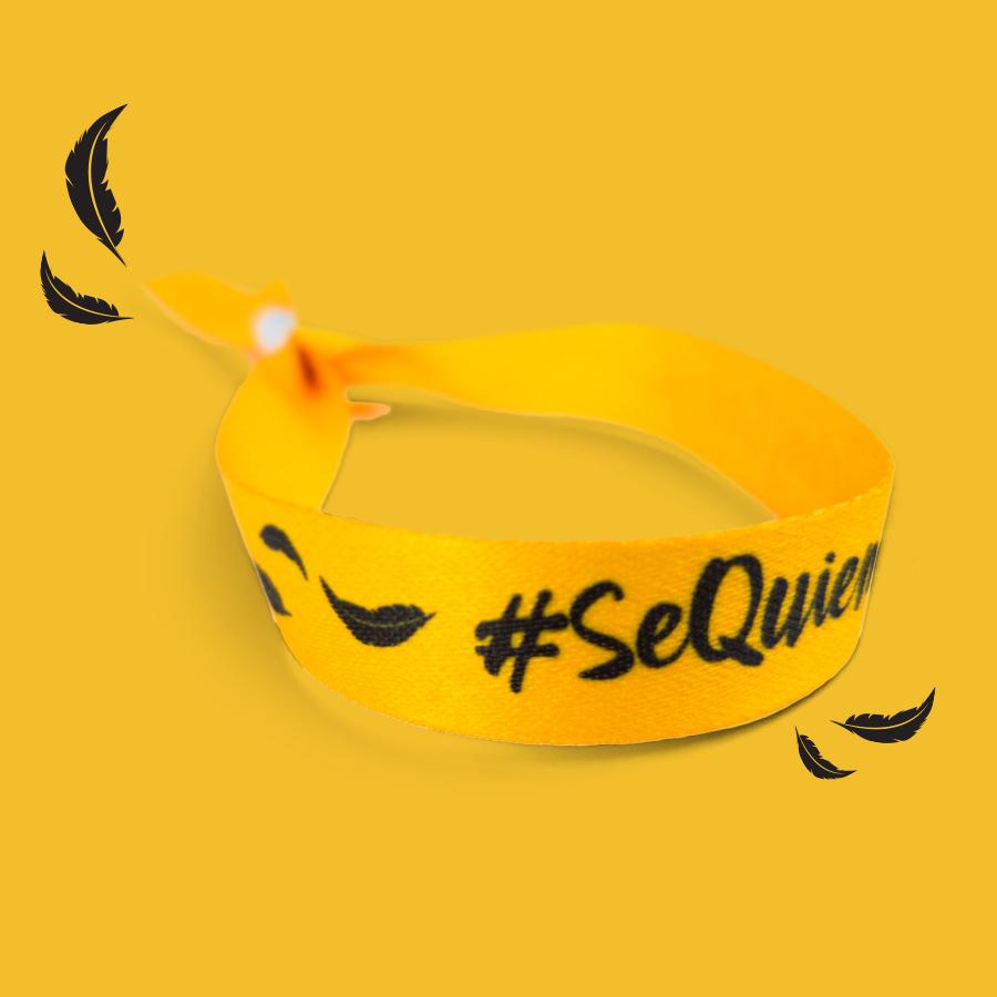 pulsera #SeQuienQuierasSer