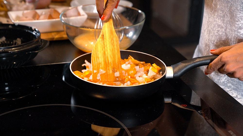tortilla de rossinyols y boniato